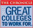 Greatest College to Work For 2017