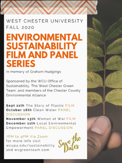 Environmental Sustainability Film and Panel Series