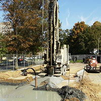 Preparing campus for the GeoThermal system