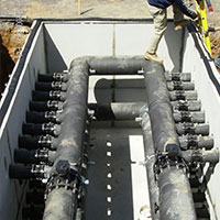 Pipes for the GeoThermal system