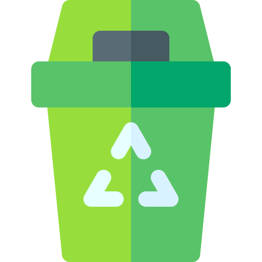 Zero Waste Committee icon - recycling bin