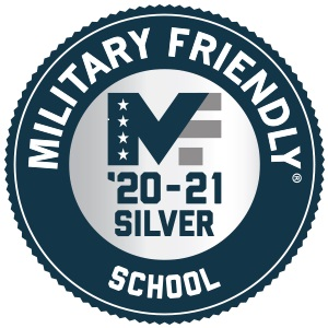 Military Friendly 2020 Logo Silver Recognition