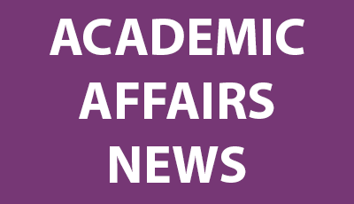 Academic Affairs News