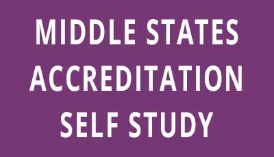Middle States Accreditation Self-Study