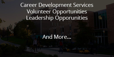 Career Development, Volunteer Opportunities, Leadership Opportunities, and More...