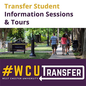 Transfer Student Information & Tours - #WCUTransfer