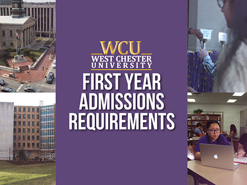 First Year Admissions Requirements