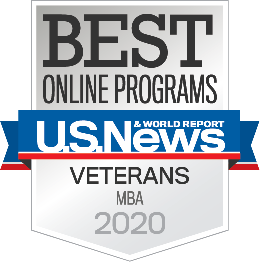 Best Online Programs U.S. News and World Report Veterans MBA 2020