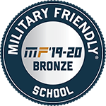Military Friendly School 2019-2020 Bronze