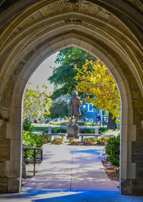 Archway at WCU