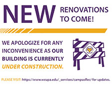 New renovations to come. We apologize for any inconveinance as our building is currently under construction.