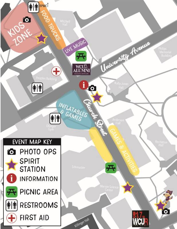 Church St. Fest Map