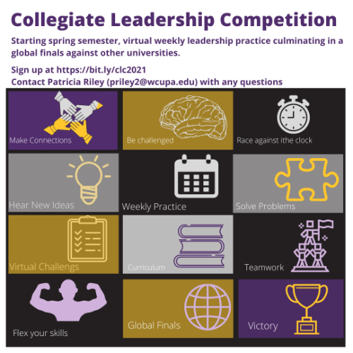 Join Collegiate Leadership Competition for Spring Semester