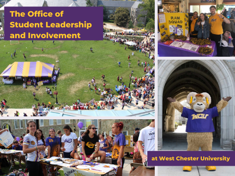 How to get involved with the office of student leadership and involvement