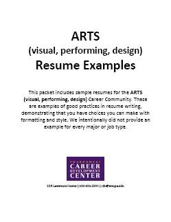 Resume Samples - West Chester University
