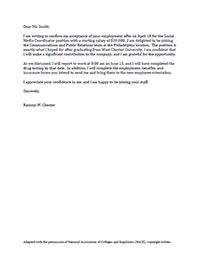 Cover Letter Samples - West Chester University