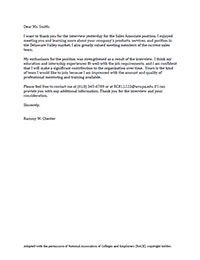 Cover Letter Samples - West Chester University