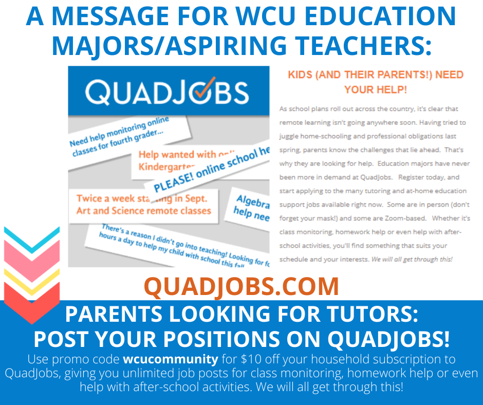 QuadJobs Fall 2020 with coupon code