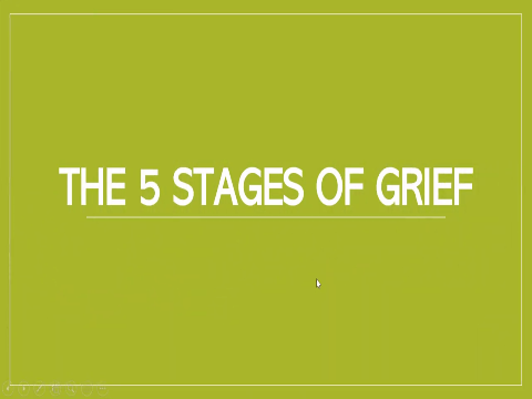 Video: 5 Stages of Grief