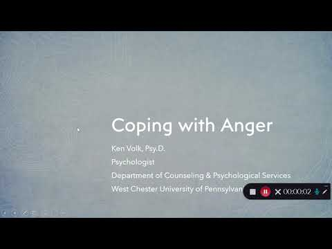 Coping with Anger