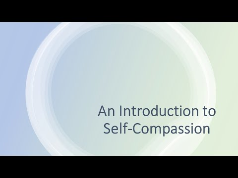 Introdcution to Self Compassion
