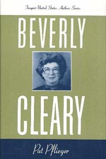 Beverly Cleary (Twayne Authors Series) Book Cover