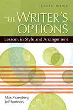 The Writer's Options Book Cover