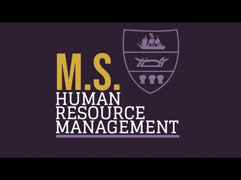 MS Human Resource Management Video