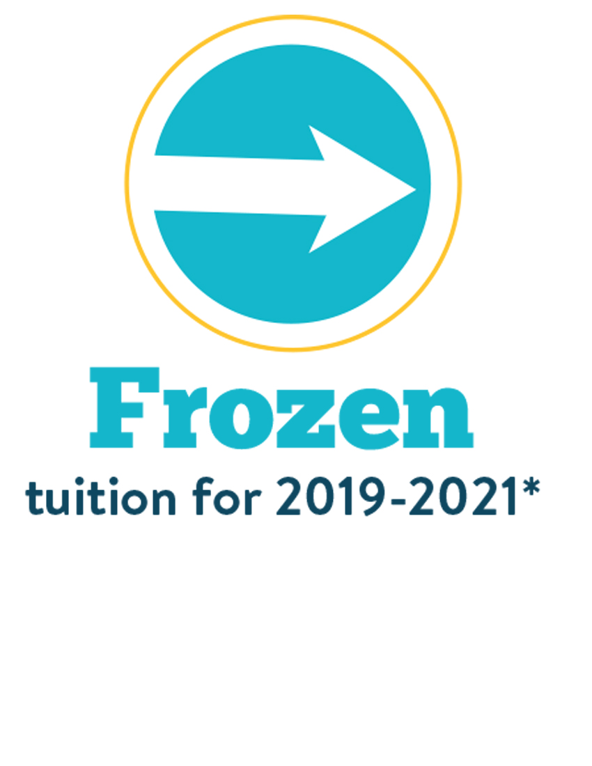 frozen tuition for 2019-2020