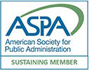 American Society for Public Administration - Sustaining Member Logo