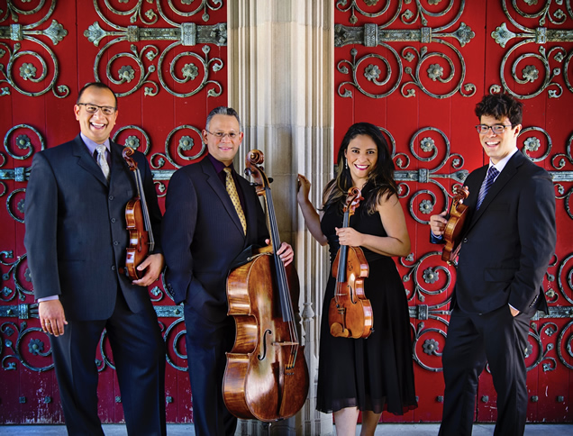 West Chester University Dali Quartet Concert 2018