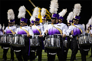 WCU's Marching Band to play for Sunday's Eagles Game