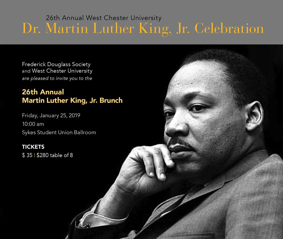 Wcu Celebrates The Legacy Of Martin Luther King Jr On Jan 25