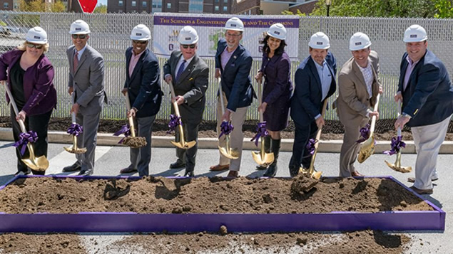 Daily Local News Covers WCU's groundbreaking