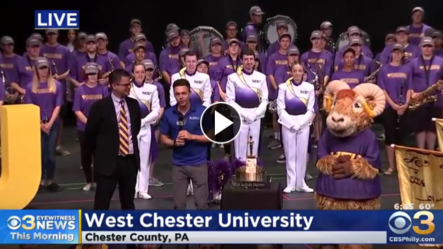 CBS3 at West Chester University