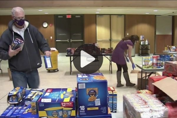 6abc Features WCU Resource Pantry Assembling Special Care Packages