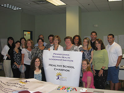West Chester University School of Health Leadership Institute group photo