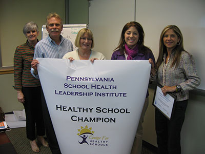 Chichester School District Healthy School Champion group photo