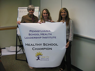 Cumberland Valley School District Healthy School Champion group photo