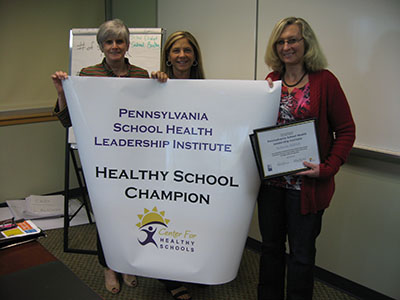 Downingtown Area School District Healthy School Champion group photo
