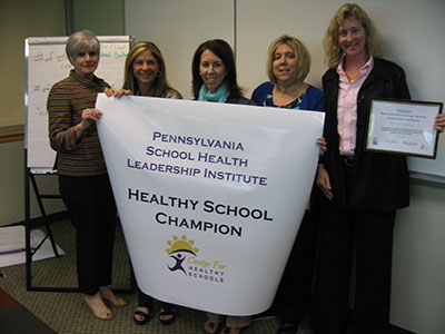 Govenor Mifflin School District Healthy School Champion group photo