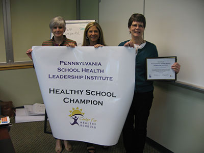 Lancaster General Health Healthy School Champion group photo