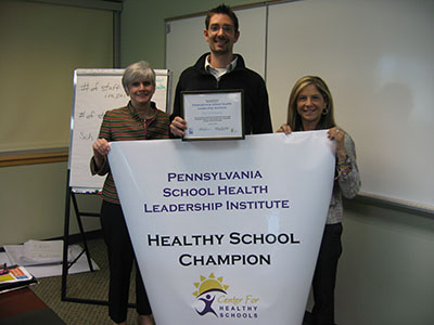 Pottstown School District Healthy School Champion group photo