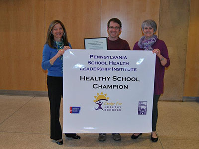 Avon Grove School District Healthy School Champion Poster