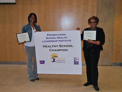 Chester Upland School District Healthy School Champion poster