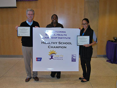 School District of Philadelphia Healthy School Champion poster