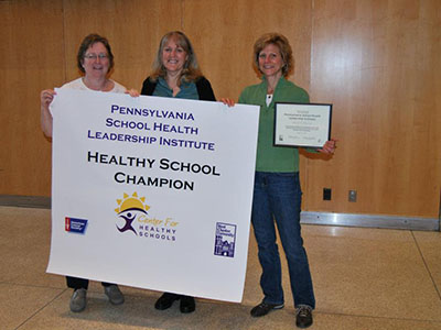 Upper Darby School District Healthy School Champion poster