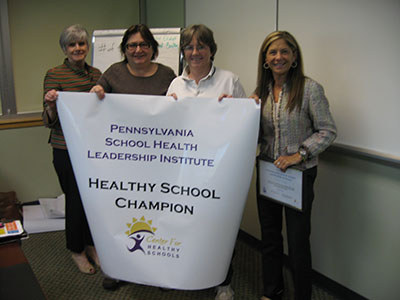 York School District Healthy School Champion group photo