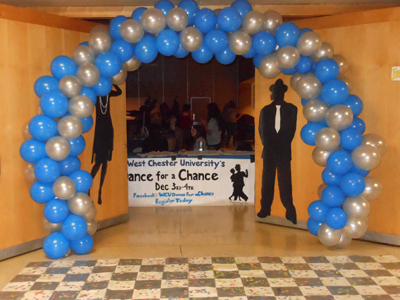 Honors Dance for a Chance entrance
