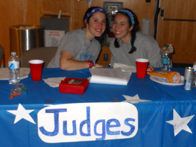 Honors Dance for a Chance judges